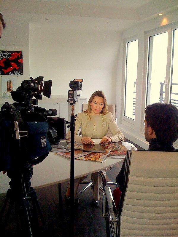 Elisabeth Visoanska interviewed by the reporting team
