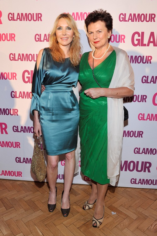 Elisabeth Visoanska at the Glamour Gala