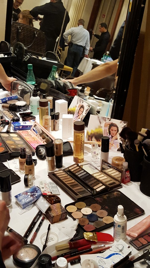Visoanska Products on backstage
