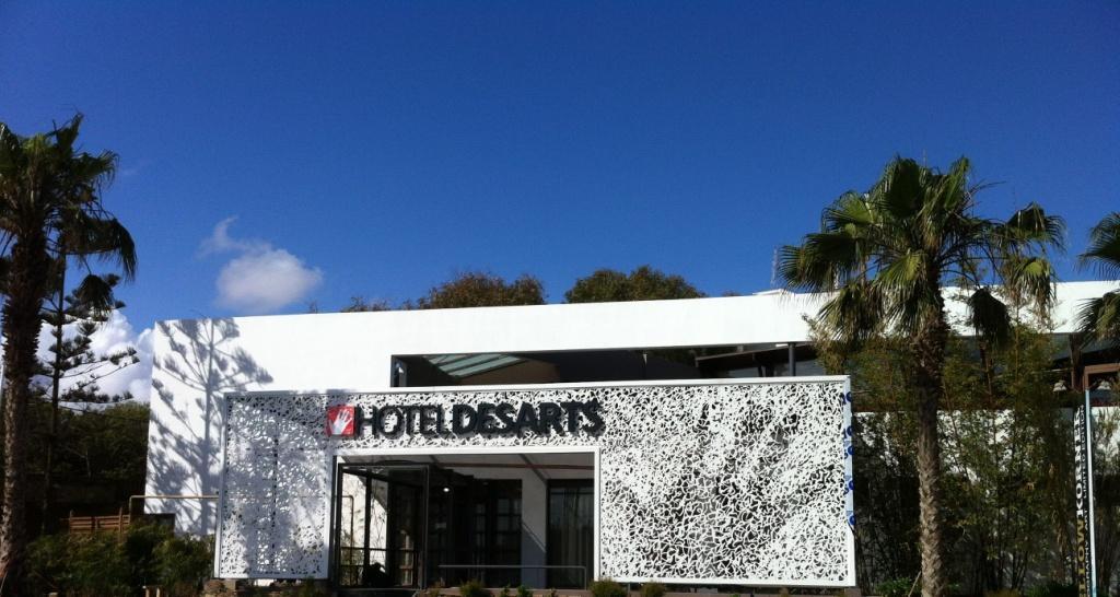 l'Hotel des Arts à Casablanca VISOANSKA