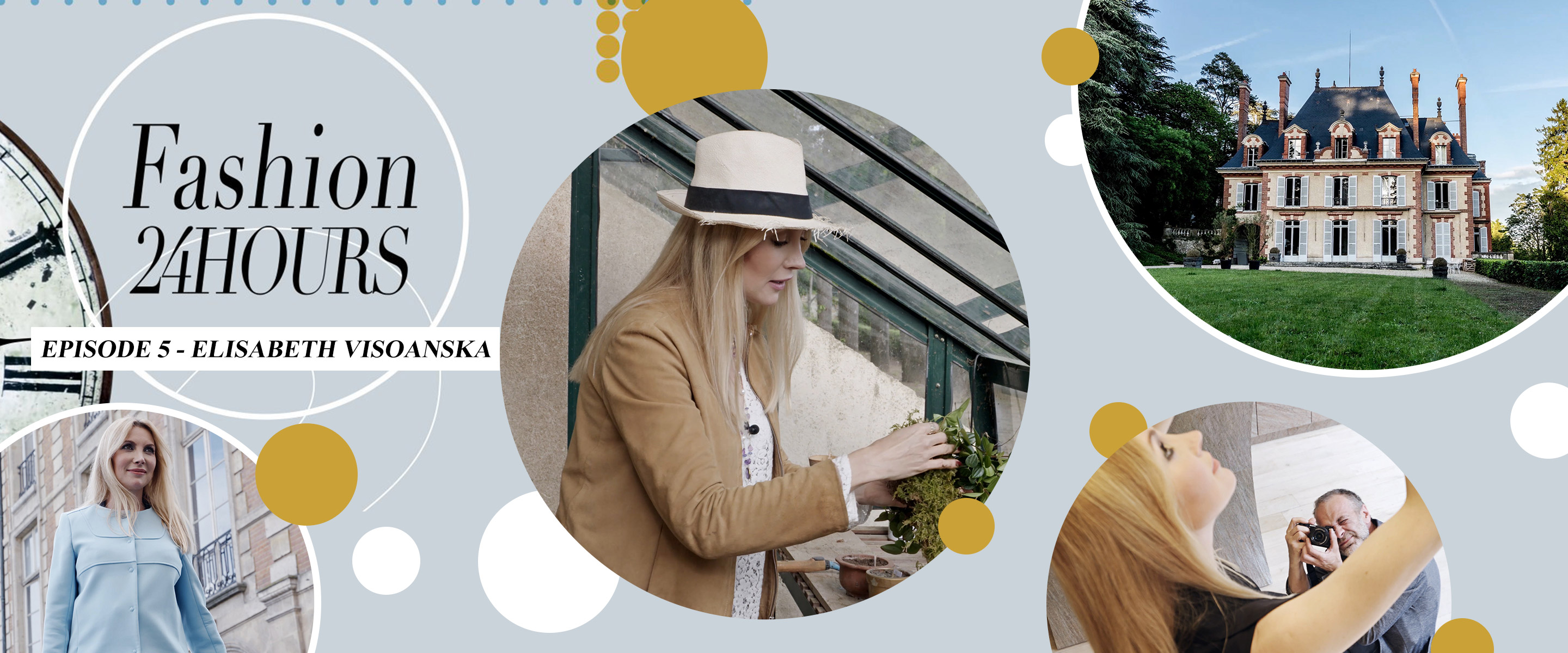 Teaser A Day in the Life of Elisabeth Visoanska on Fashion 24 Hours TV