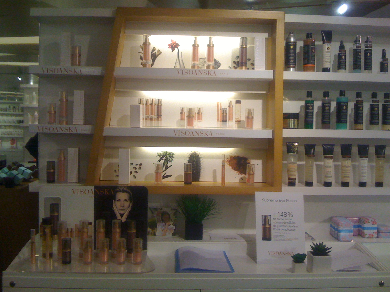 Visoanska in Isolee Beauty Madrid